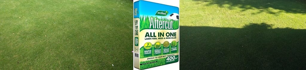 Aftercut all in one lawn feed