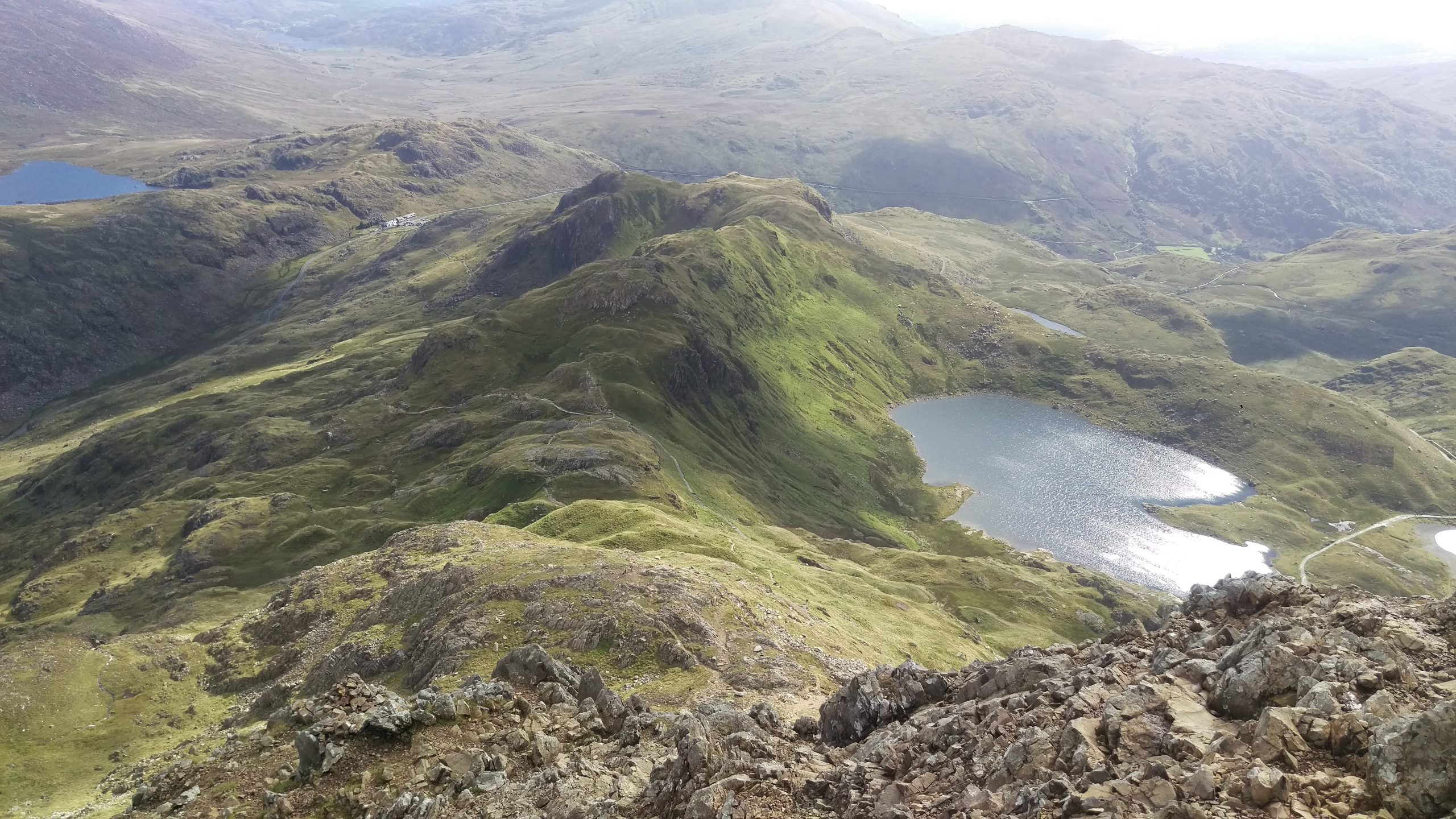 The ascent to Grib Goch