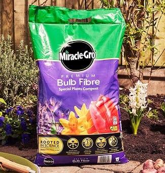 Bulb fibre compost