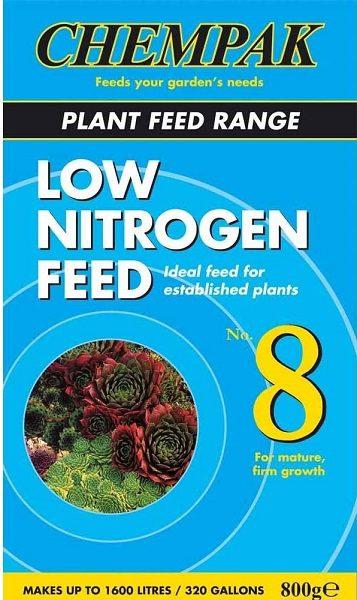Chempak #8 - low nitrogen fertiliser for dahlias