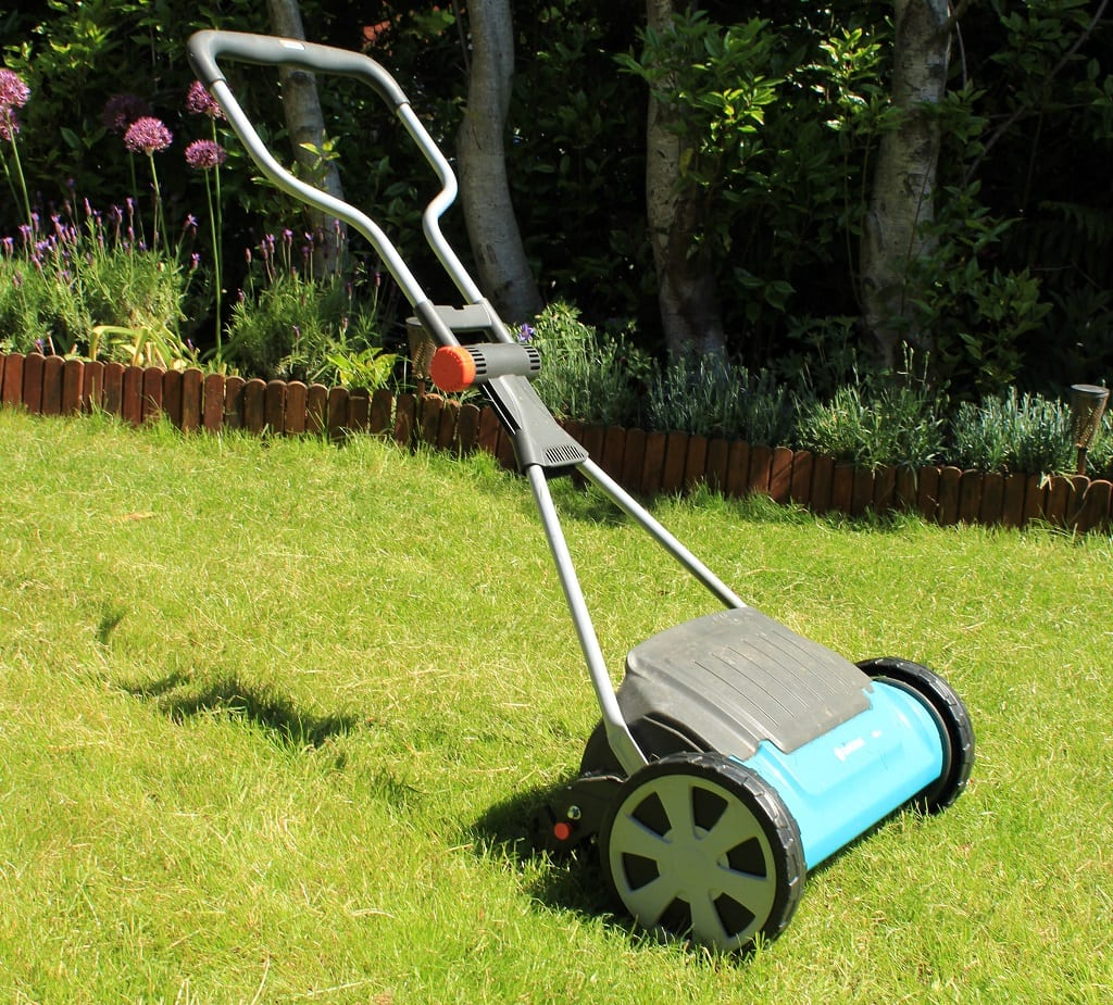 Our cylinder mower