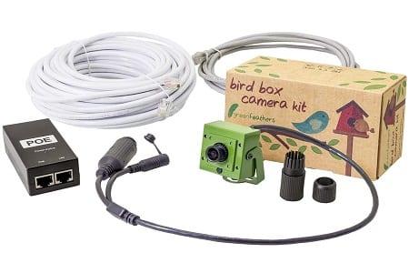 Wired garden wildlife camera