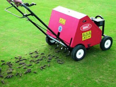 lawn plugger machine