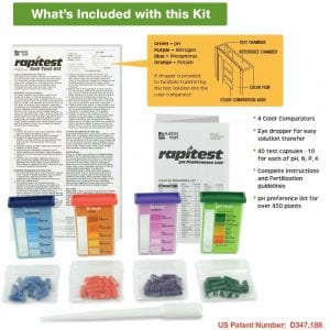 Soil test kit 2