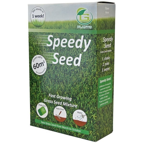 Speedy Seed fast growing UK grass seeds