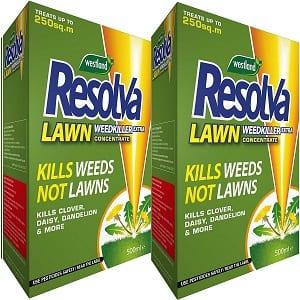 Resolva lawn weed killer