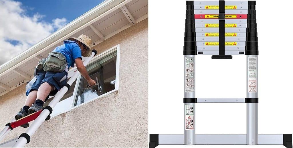 WolfWise telescopic ladder